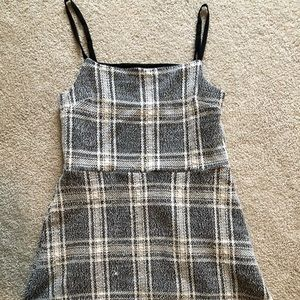 Urban Outfitters Checkered Mini Dress